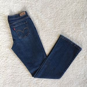 Levi's 515 Bootcut Mid Rise Jeans 4m